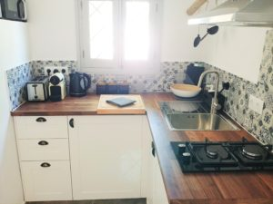 1 Bedroom Casita Kitchen - Finca Gran Cerros