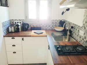 1 Bedroom Casita Kitchen - Finca Gran Cerros