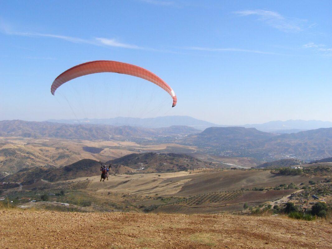 Valle_de_Abdalajis-Paragliding